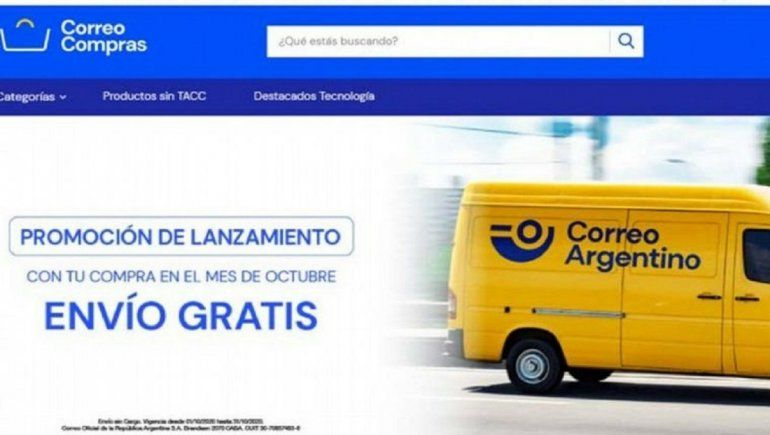 Correo Compras la nueva plataforma de Correo Argentino