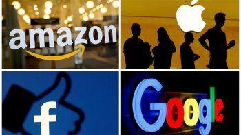 las grandes empresas tecnologicas en la mira de ee.uu. y la ue