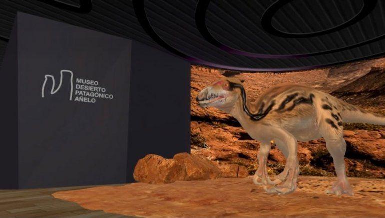 La UNCo tiene un museo de dinos en tiempos de pandemia