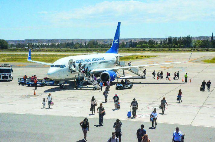El viernes vuelven los vuelos a Neuquén.