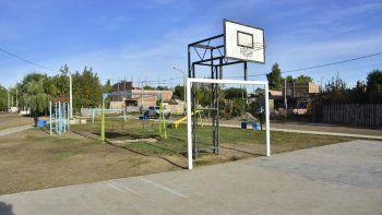 la municipalidad transformo un microbasural en un espacio verde