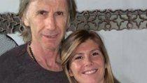 Ricardo Gareca y Fiorella, su hija que conoció recién en 2013.