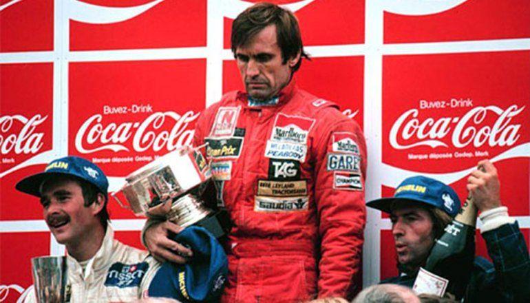 El día que Reutemann no festejó: a 40 años de la última victoria argentina en la F1