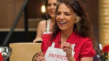 Patricia Sosa es la tercera eliminada de MasterChef Celebrity