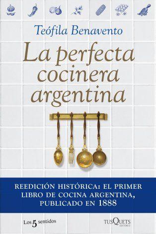 Cuál fue el primer libro de cocina que se publicó en Argentina