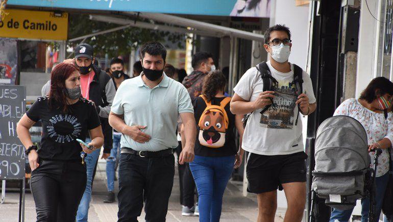 El uso del barbijo sigue siendo obligatorio en toda la provincia como parte del protocolo para resguardo del coronavirus.