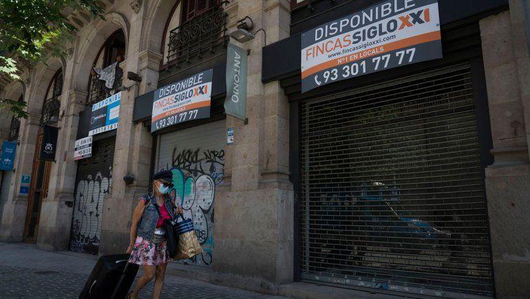 Preocupación en España por caída de la economía