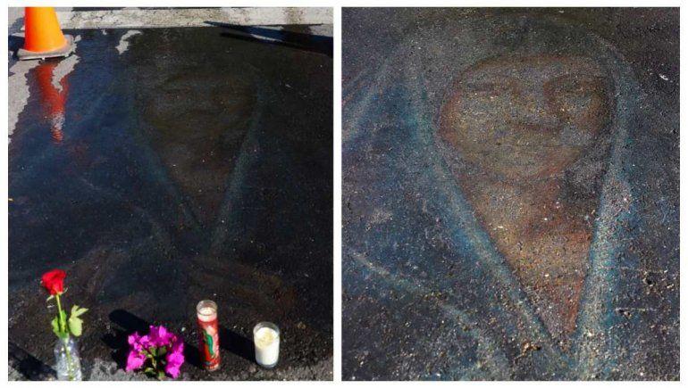 Asombro: la imagen de una Virgen reapareció 13 años después