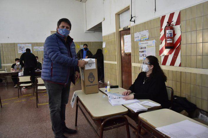 Gaido votó y pidió a los vecinos hacerlo con responsabilidad