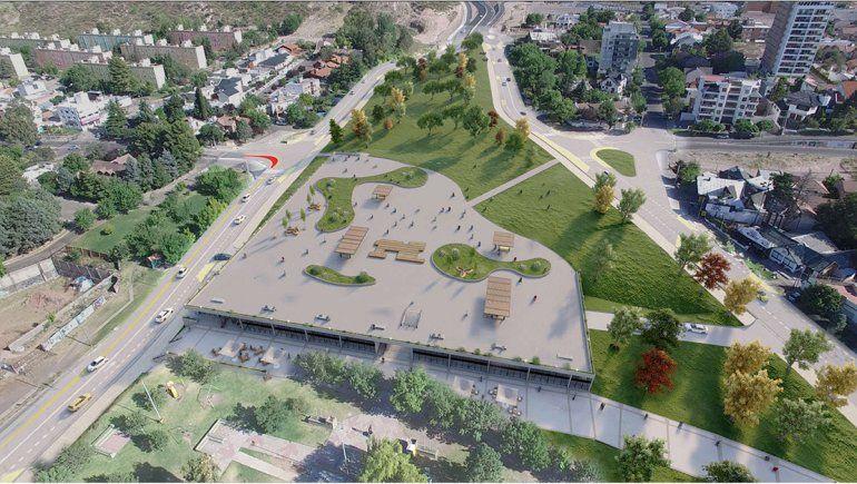 Cómo será el nuevo mega estacionamiento y centro comercial de la ciudad