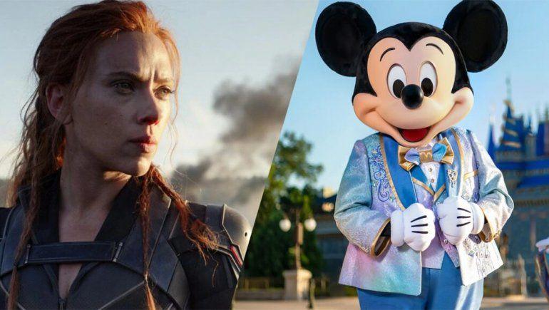 Tras la denuncia de Scarlett Johansson, Disney salió con los tapones de punta contra la actriz