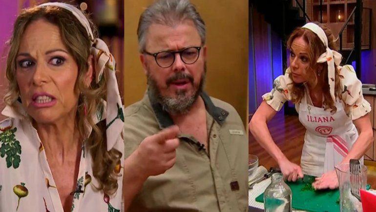 Iliana Calabró insultó a Donato por obligarla a cocinar pato: ¡Qué te parió!