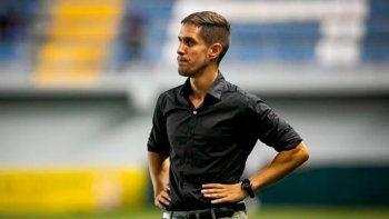 El entrenador neuquino de la selección de Nicaragua.