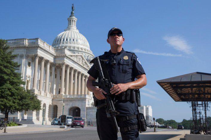 Máxima tensión: quiso entrar al Capitolio armado con 500 balas