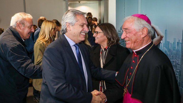 Alberto Fernández llegó a Italia y mañana se verá con el Papa