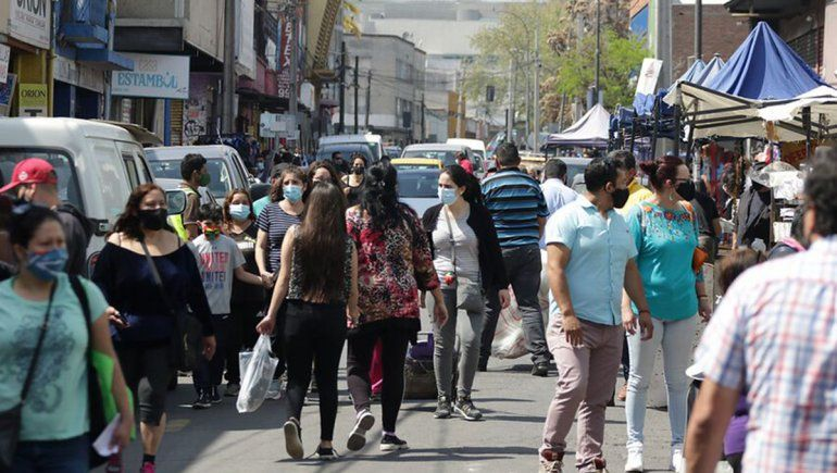 El 97% de la capital de Chile está sin cuarentena