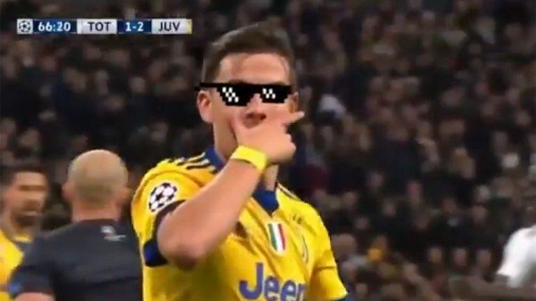 El meme del año: Dybala le respondió a Mariano Closs con un gol