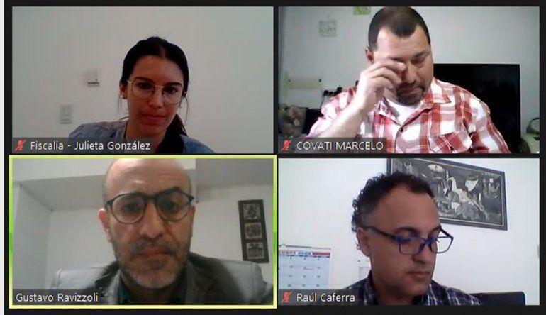 Audiencia de juicio abreviado contra Marcelo Covati por crueldad animal.
