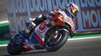 Takaaki Nakgami consiguió su primera pole en Moto GP.