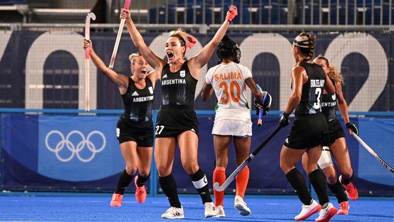 Las Leonas le ganaron a India e irán por el oro en Tokio 2020