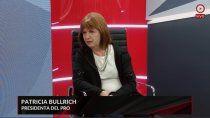 patricia bullrich: la justicia paro el plancito del gobierno para que los estudiantes vayan al cine