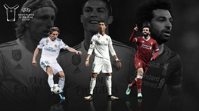 Ya están los finalistas: ¿Quién será el mejor jugador de la UEFA?
