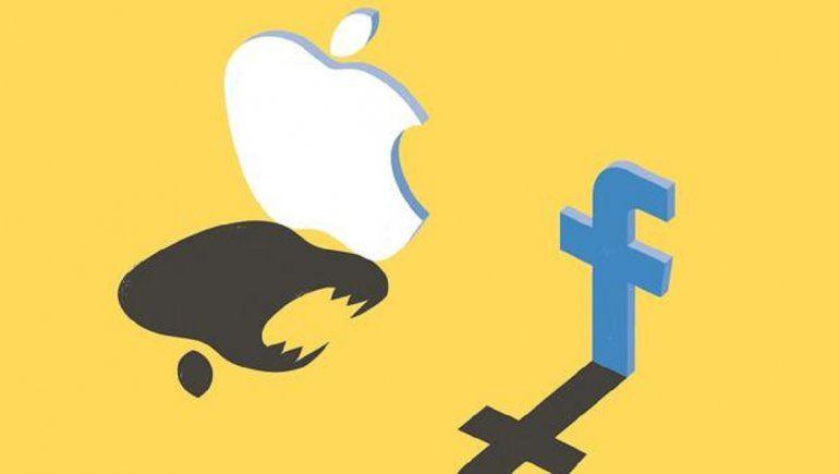 Facebook batalla intentos de Apple de proteger privacidad