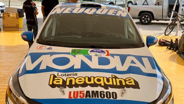 Martín Suriani sale a dar batalla en el Rally de México