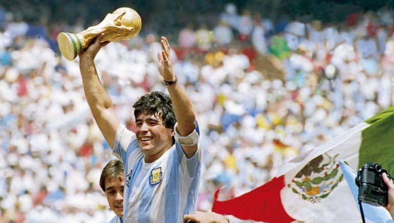 Maradona, el que cumplió nuestros sueños