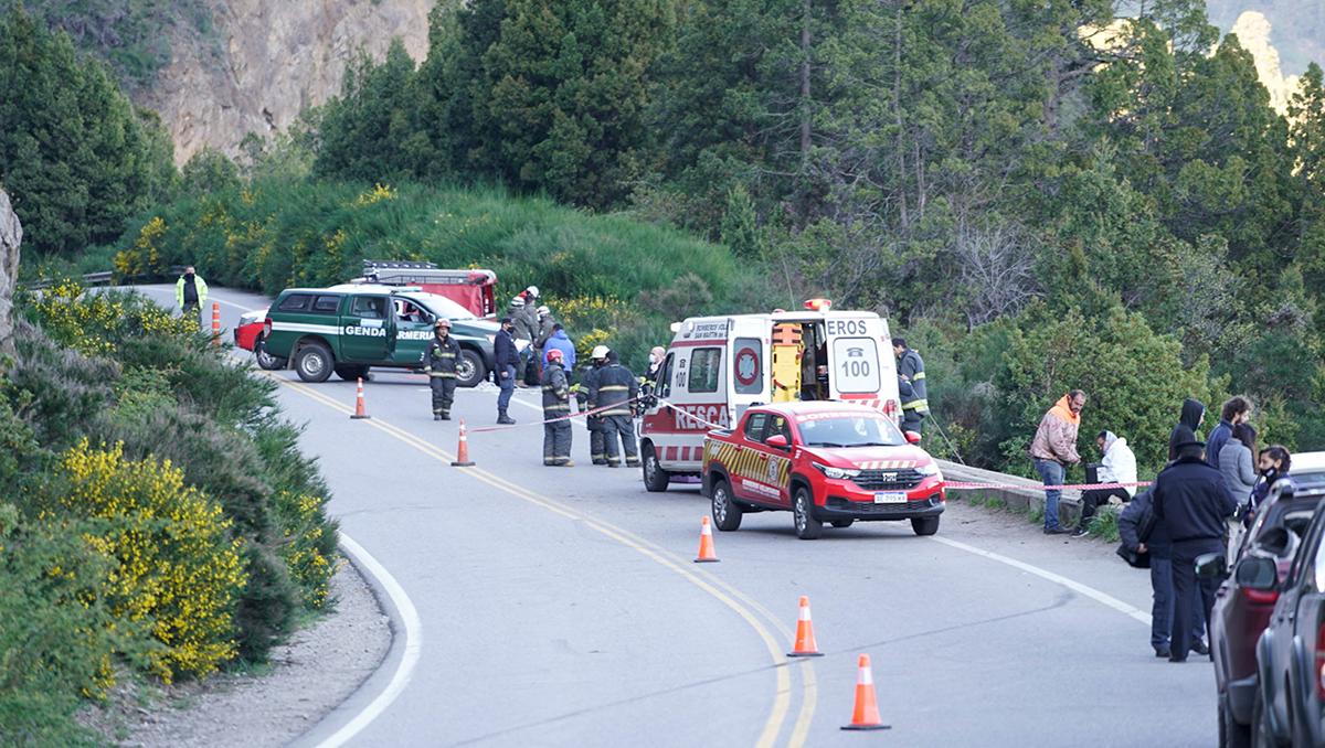 ¿que se sabe del accidente fatal en lago lacar?