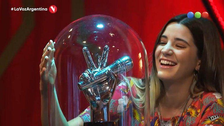 Otra rionegrina entró a La Voz Argentina y la rompió