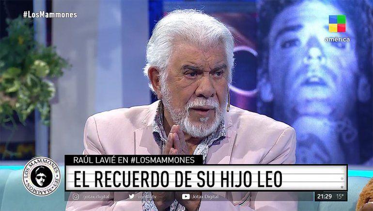 El duro recuerdo de Raúl Lavié sobre la muerte de su hijo
