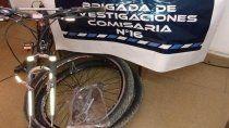 La Policía recuperó los elementos robados, tras un allanamiento en una vivienda de la toma La Paz.
