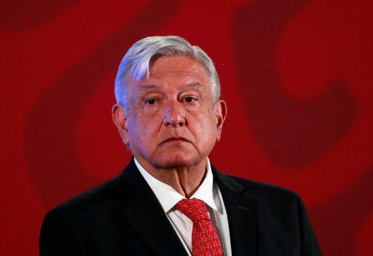 Imagen de archivo del presidente de México